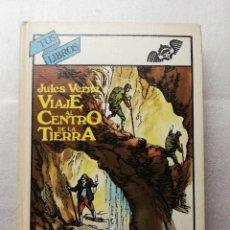 Libros de segunda mano: VIAJE AL CENTRO DE LA TIERRA JULIO VERNE TUS LIBROS 11 1982 ED. ANAYA . Lote 148099446