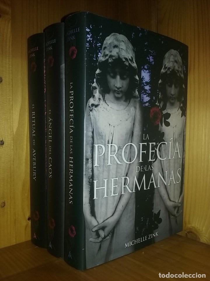 Trilogia La Profecia De Las Hermanas El Angel Sold Through Direct Sale 148468874