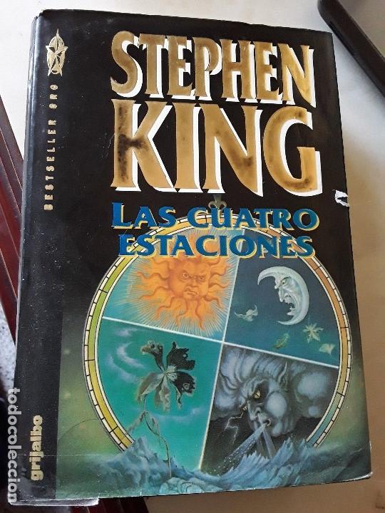 LAS CUATRO ESTACIONES, DE STEPHEN KING (ED. ÍNTEGRA). GRIJALBO, 1993. TAPA DURA Y SOBRECUBIERTA. (Libros de segunda mano (posteriores a 1936) - Literatura - Narrativa - Terror, Misterio y Policíaco)