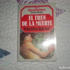 Libros de segunda mano: EL TREN DE LA MUERTE,SÉBASTIEN JAPRISOT;PLANETA 1985. Lote 148656066