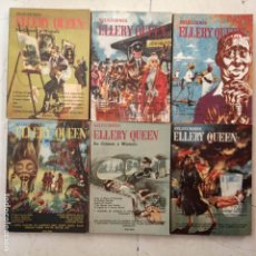 Libros de segunda mano: SELECCIONES ELLERY QUEEN DE CRÍMEN Y MISTERIO - 1,2,3,4,5,6 - 1953 ZIG-ZAG - MUY NUEVAS. Lote 148696678