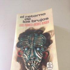 Libros de segunda mano: EL RETORNO DE LOS BRUJOS. Lote 148777152