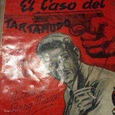 Libros de segunda mano: EL CASO DEL TARTAMUDO. ERLE STANLEY GARDNER. SELECCIONES DE BIBLIOTECA ORO. NÚMERO 115. EDITORIAL M. Lote 149359920