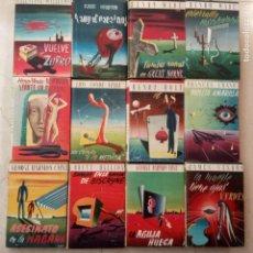 Libros de segunda mano: LOS ESCRITORES DE AHORA SERIE POLICIACA 1950 PLAZA JANES - 12 LIBROS CON SOBRECUBIERTA. Lote 149399806