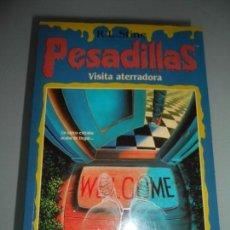 Libros de segunda mano: PESADILLAS - VISITA ATERRADORA - AÑO 1996. Lote 149609470