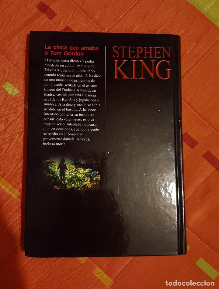 Libros de segunda mano: La Chica que Amaba a Tom Gordon Stephen King Ed. RBA Tapa Dura - Foto 2 - 149617526