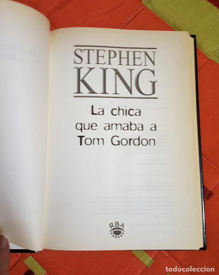 Libros de segunda mano: La Chica que Amaba a Tom Gordon Stephen King Ed. RBA Tapa Dura - Foto 3 - 149617526
