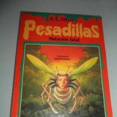 Libros de segunda mano: PESADILLAS .- MUTACIÓN FATAL - AÑO 1996. Lote 149665518