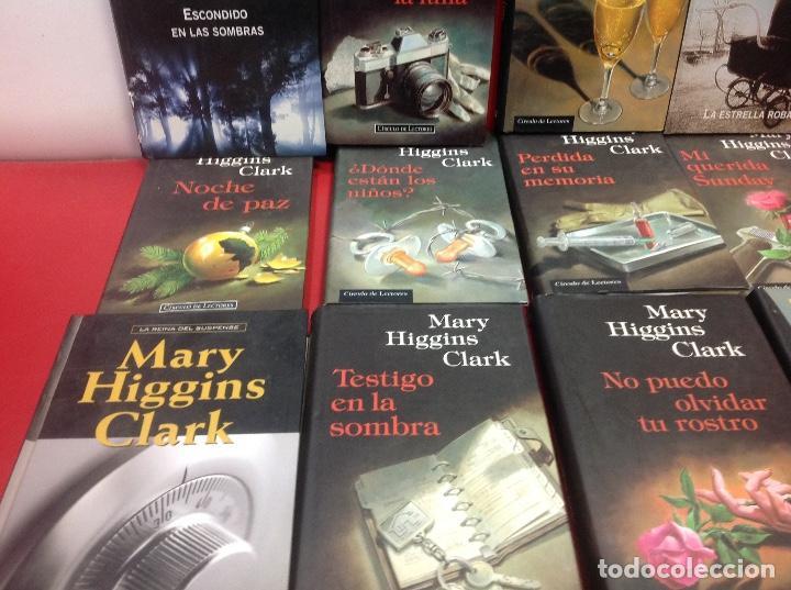 Second hand books: LOTE DE 14 NOVELAS DE SUSPENSE DE MARY HIGGINS CLARK - Foto 4 - 150993718
