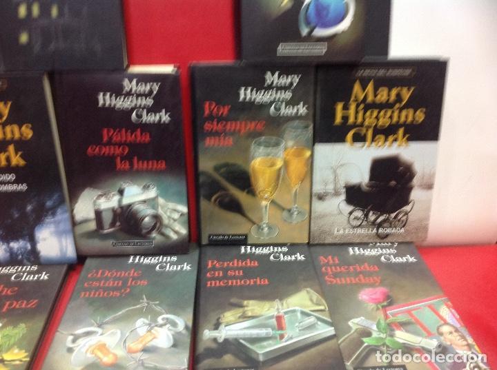 Second hand books: LOTE DE 14 NOVELAS DE SUSPENSE DE MARY HIGGINS CLARK - Foto 5 - 150993718