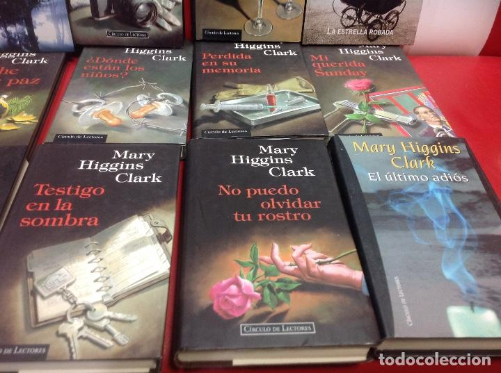 Second hand books: LOTE DE 14 NOVELAS DE SUSPENSE DE MARY HIGGINS CLARK - Foto 6 - 150993718