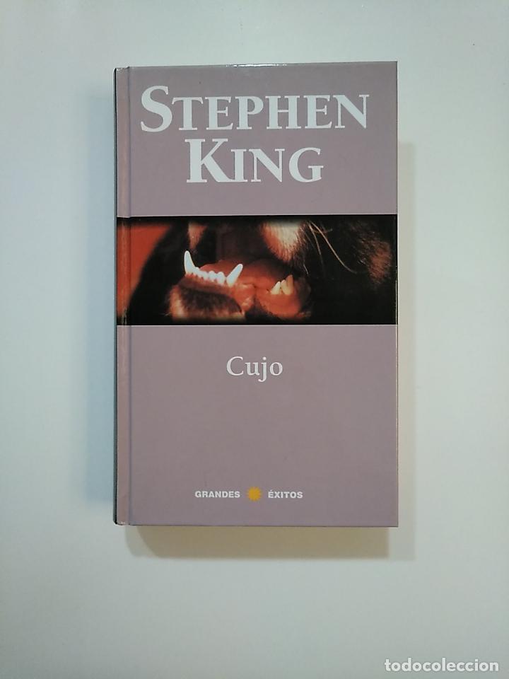 CUJO. STEPHEN KING. GRANDES EXITOS. RBA. TDK363 (Libros de segunda mano (posteriores a 1936) - Literatura - Narrativa - Terror, Misterio y Policíaco)