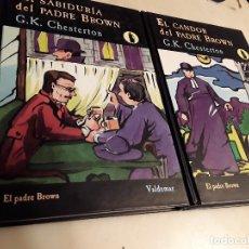 Libros de segunda mano: LA SABIDURÍA DEL PADRE BROWN/EL CANDOR DEL..., DE CHESTERTON. VALDEMAR. EXCELENTE ESTADO.. Lote 151547398