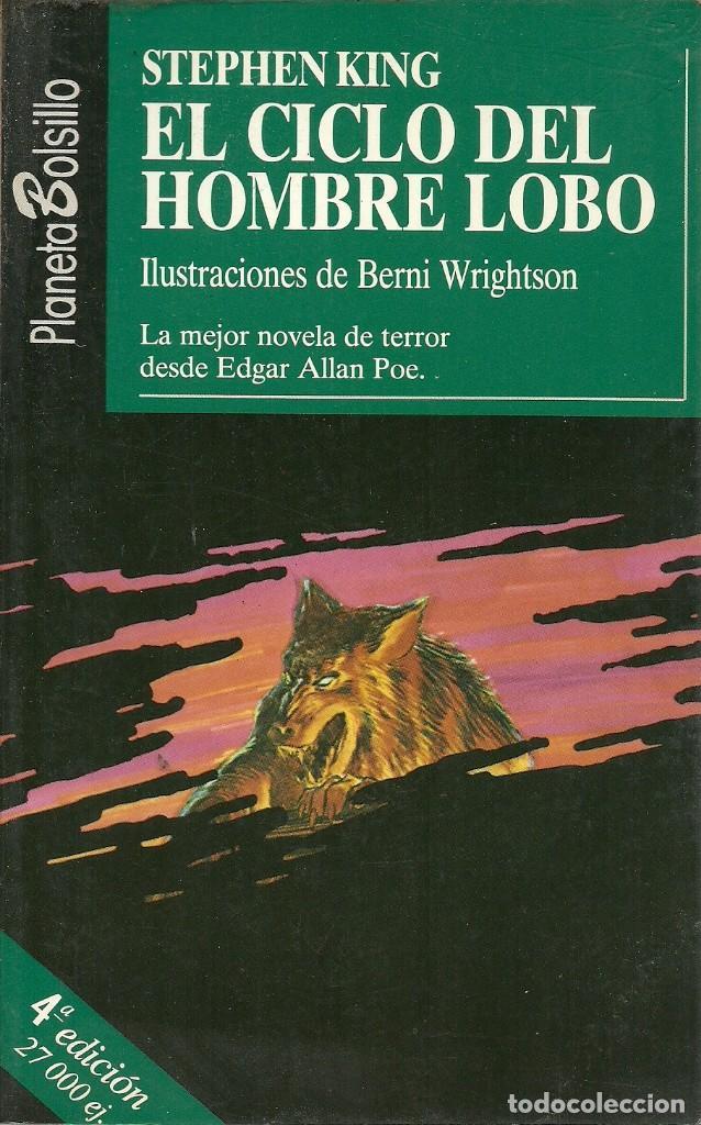 EL CICLO DEL HOMBRE LOBO STEPHEN KING (Libros de segunda mano (posteriores a 1936) - Literatura - Narrativa - Terror, Misterio y Policíaco)