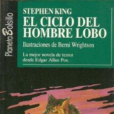 Libros de segunda mano: EL CICLO DEL HOMBRE LOBO STEPHEN KING. Lote 151575002