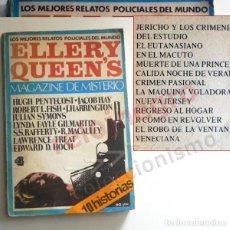 Libros de segunda mano: ELLERY QUEEN'S MAGAZINE DE MISTERIO Nº 4 - LIBRO RELATOS ESTILO REVISTA - POLICIAL SYMONS FAYLE HOCH. Lote 152119042