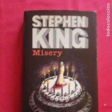 Libros de segunda mano: MISERY. STEPHEN KING. CÍRCULO DE LECTORES.. Lote 236917515