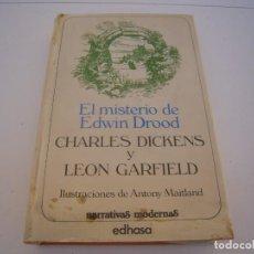 Livros em segunda mão: EL MISTERIO DE EDWIN DROOD. Lote 152466946