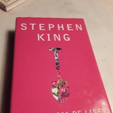 Libri di seconda mano: HISTORIA DE LISEY, DE STEPHEN KING. PJ, MAYO 2007 (1A EDICIÓN). TAPA DURA. MAGNÍFICO ESTADO.. Lote 135164210