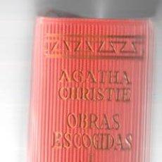 Libros de segunda mano: AGATHA CHRISTIE. OBRAS ESCOGIDAS TOMO I 1. AGUILAR. EL LINCE ASTUTO. Lote 152598654