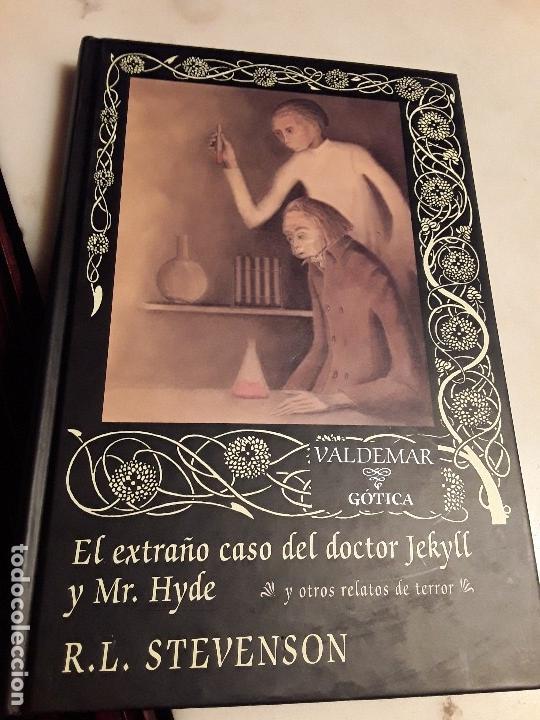 EL EXTRAÑO CASO DEL DOCTOR JEKYLL Y MR. HYDE, DE STEVENSON. VALDEMAR GÓTICA, 2003 (1ª ED). EXCELENTE (Libros de segunda mano (posteriores a 1936) - Literatura - Narrativa - Terror, Misterio y Policíaco)
