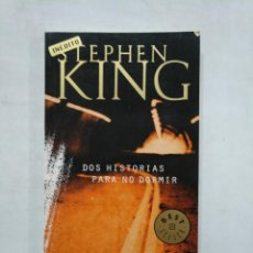 Libros de segunda mano: DOS HISTORIAS PARA NO DORMIR. - STEPHEN KING - RANDOM HOUSE MONDADORI INEDITO. TDK371. Lote 152839350