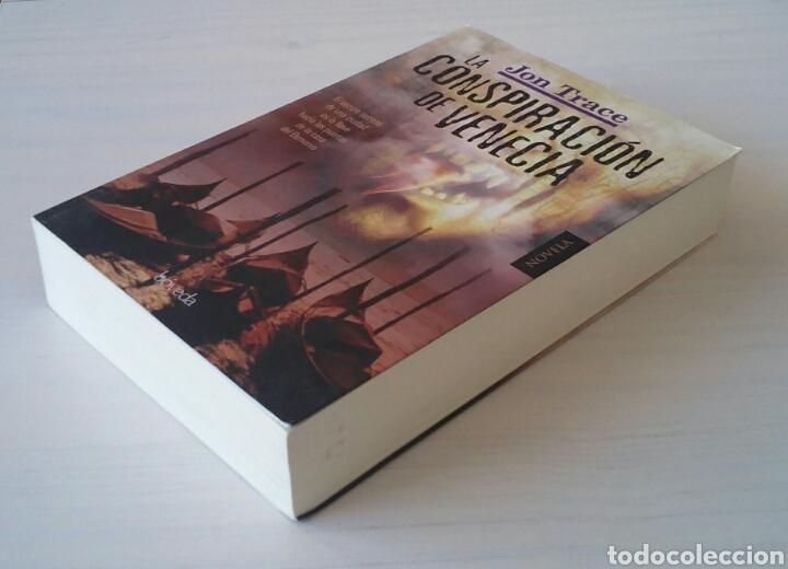 Libros de segunda mano: CTC - 1ª EDICION 2011 BOVEDA - LA CONSPIRACION DE VENECIA - JON TRACE - NOVELA NEGRA - BUEN ESTADO - Foto 2 - 152843042