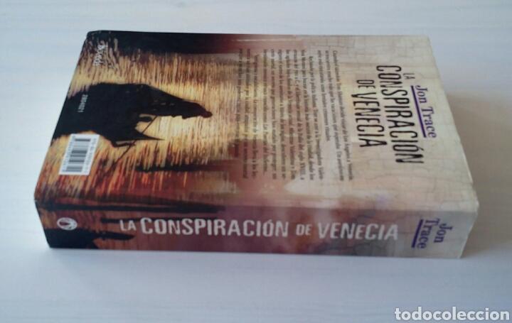 Libros de segunda mano: CTC - 1ª EDICION 2011 BOVEDA - LA CONSPIRACION DE VENECIA - JON TRACE - NOVELA NEGRA - BUEN ESTADO - Foto 4 - 152843042