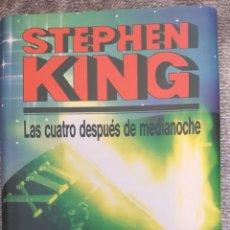 Libros de segunda mano: LAS CUATRO DESPUÉS DE MEDIANOCHE. STEPHEN KING. Lote 152867129