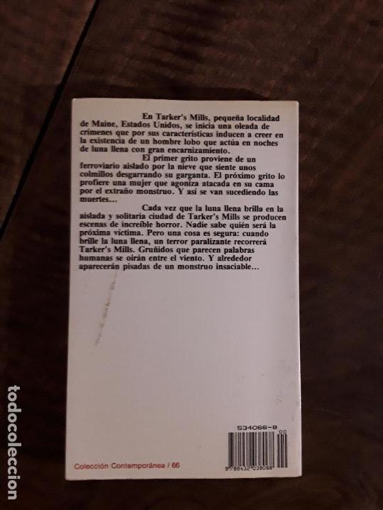 Libros de segunda mano: EL CICLO DEL HOMBRE LOBO, STEPHEN KING - Foto 2 - 152957994