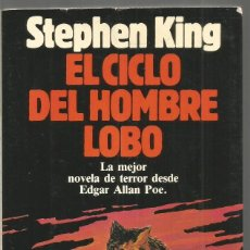Libros de segunda mano: STEPHEN KING. EL CICLO DEL HOMBRE LOBO. PLANETA. ILUSTRADO.. Lote 153352454