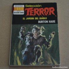 Livres d'occasion: EL JARDIN DEL DIABLO. BURTON HARE. COL. SELECCION TERROR, Nº 95. LITERACOMIC. C2. Lote 154146002