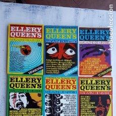 Libros de segunda mano: ELLERY QUEEN'S MAGAZINE DE MISTERIO - 1,3,4,5,6,7,8,9,10 - MUY NUEVOS. Lote 154448042