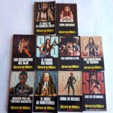 Libros de segunda mano: SAS - GÉRARD DE VILLIERS - GRIJALBO 1979 - NOS - 1,2,3,4,5,6,7,8,9,10 - MUY NUEVAS, COMPLETA. Lote 154449578