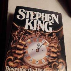 Libros de segunda mano: DESPUÉS DE MEDIANOCHE, DE STEPHEN KING. ED. B, SEPTIEMBRE 1992. EXCELENTE ESTADO.. Lote 216730803