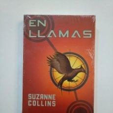 Libros de segunda mano: EN LLAMAS. - SUZANNE COLLINS. CIRCULO DE LECTORES. NUEVO. TDK374. Lote 154742702