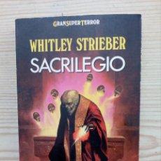 Libros de segunda mano: SACRILEGIO - GRAN SUPER TERROR - MARTINEZ ROCA. Lote 155318950