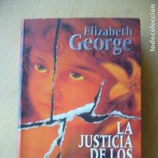 Libros de segunda mano: LA JUSTICIA DE LOS INOCENTES - ELIZABETH GEORGE. Lote 155343630