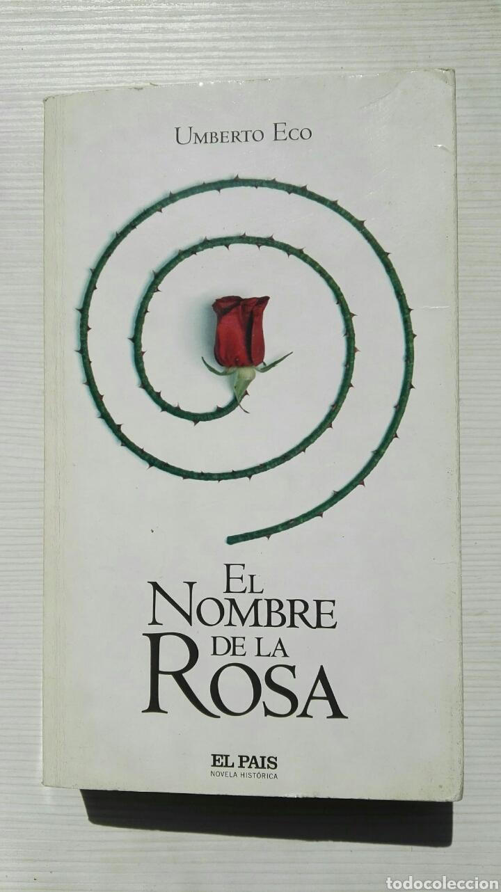 EN EL NOMBRE DE LA ROSA (Libros de segunda mano (posteriores a 1936) - Literatura - Narrativa - Terror, Misterio y Policíaco)
