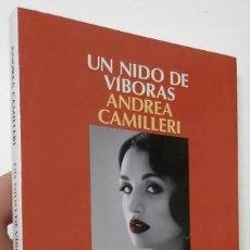 Libros de segunda mano: UN NIDO DE VÍBORAS - ANDREA CAMILLERI. Lote 155911718