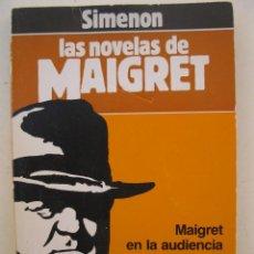 Libros de segunda mano: LAS NOVELAS DE MAIGRET - Nº 2 - MAIGRET EN LA AUDIENCIA - GEORGES SIMENON - FORUM - AÑO 1987.. Lote 156526342