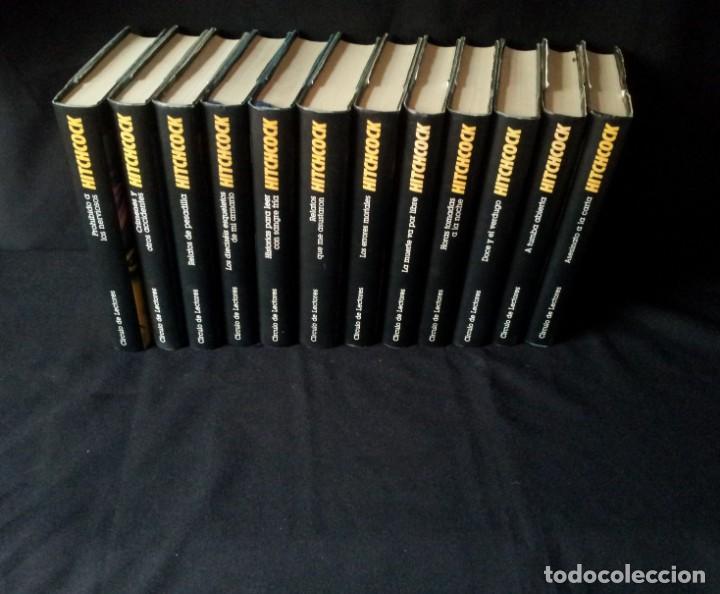ALFRED HITCHCOCK - COLECCION COMPLETA 12 LIBROS - CIRCULO DE LECTORES (Libros de segunda mano (posteriores a 1936) - Literatura - Narrativa - Terror, Misterio y Policíaco)