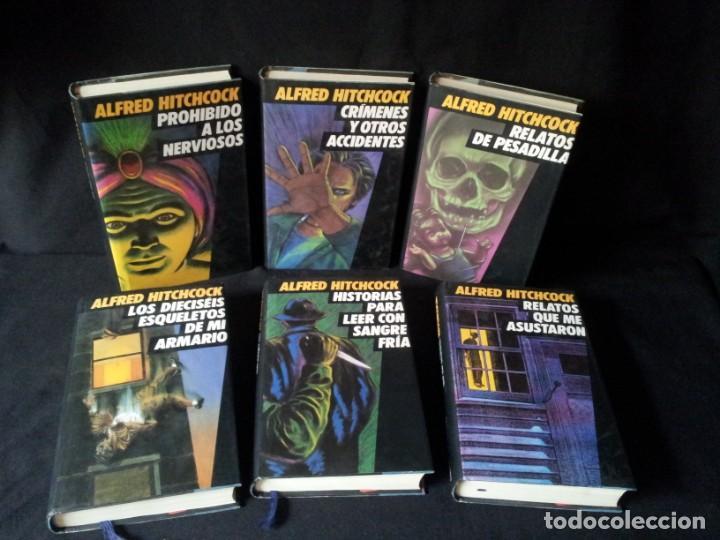 Libros de segunda mano: ALFRED HITCHCOCK - COLECCION COMPLETA 12 LIBROS - CIRCULO DE LECTORES - Foto 2 - 156785214