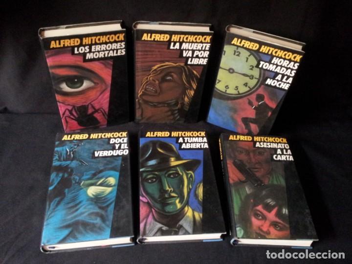 Libros de segunda mano: ALFRED HITCHCOCK - COLECCION COMPLETA 12 LIBROS - CIRCULO DE LECTORES - Foto 3 - 156785214