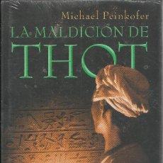 Libros de segunda mano: MICHAEL PEINKOFER-LA MALDICIÓN DE THOT.CÍRCULO DE LECTORES.2009.NUEVO.. Lote 156917726