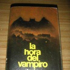 Libros de segunda mano: LA HORA DEL VAMPIRO / SALEM'S LOT (STEPHEN KING) 1ª EDICIÓN DE BOLSILLO. Lote 156922566