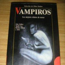 Libros de segunda mano: VAMPIROS - LOS MEJORES RELATOS DE TERROR (DAN SIMMONS, FRITZ LEIBER, TANITH LEE Y OTROS) ROBINBOOK. Lote 156922586