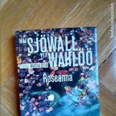 Libros de segunda mano: SJOWALL PER WAHLOO - ROSEANNA. Lote 156945278