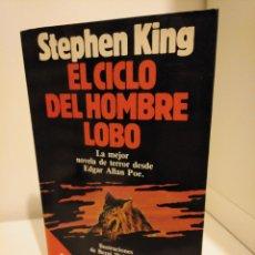Libros de segunda mano: EL CICLO DEL HOMBRE LOBO - STEPHEN KING - BESTSELLER MUNDIAL PLANETA. Lote 158475572