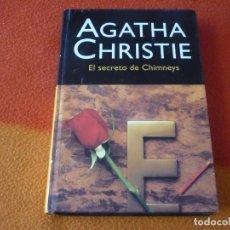 Libros de segunda mano: EL SECRETO DE CHIMNEYS ( AGATHA CHRISTIE ) ¡MUY BUEN ESTADO! TAPA DURA. Lote 158514398